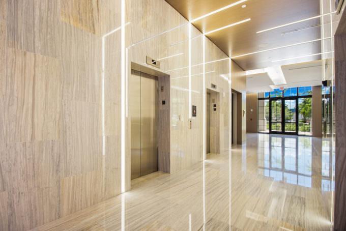 Lobby Elevators 2