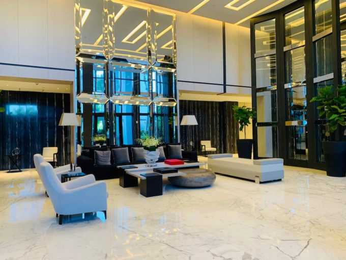 Continuum Lobby North Tower