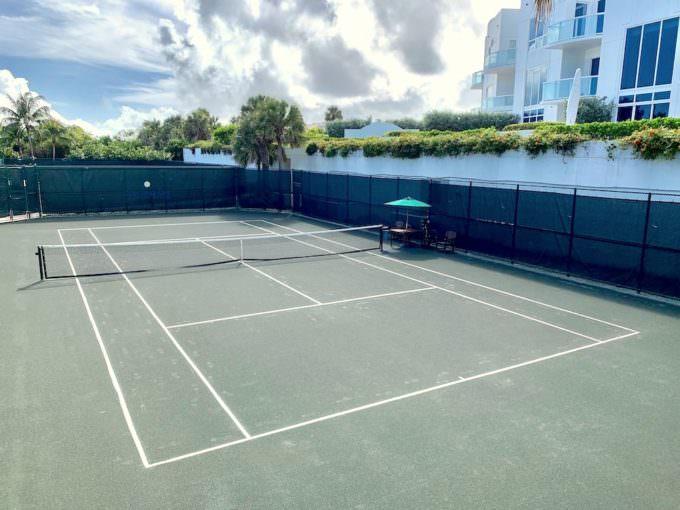 3 Har-tru Clay Tennis Courts