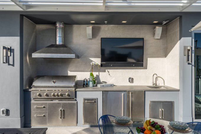 Rooftop Summer Kitchen