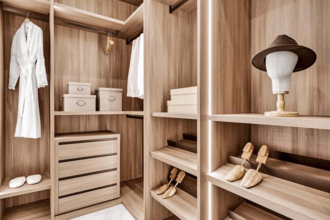 Spacious Closets