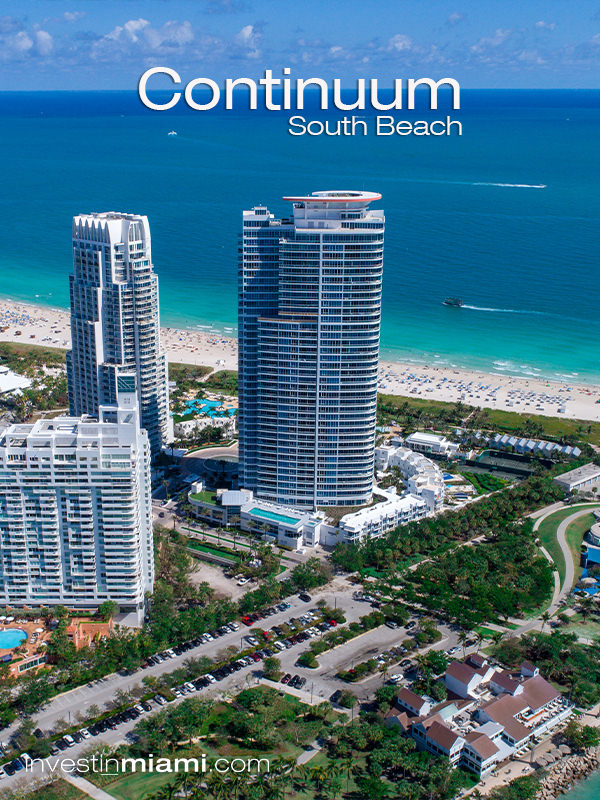 Continuum South Beach Condos for Sale