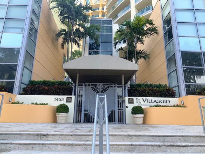 Il Villaggio South Beach Resident entrance