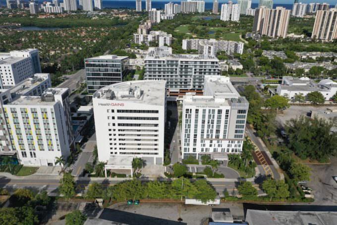 Aventura Park Square Aerial 1