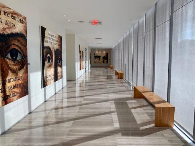 Amenities hallway