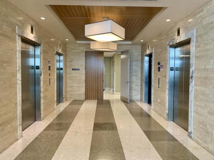 Latitude One Elevator Landing