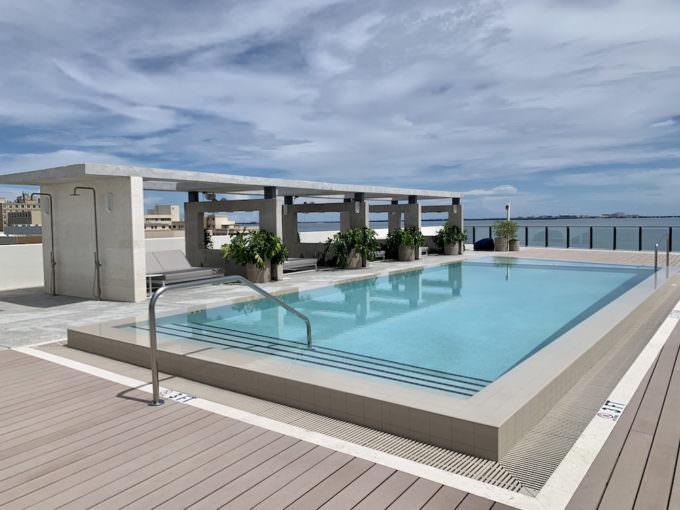 Fairchild Coconut Grove Rooftop Pool 1