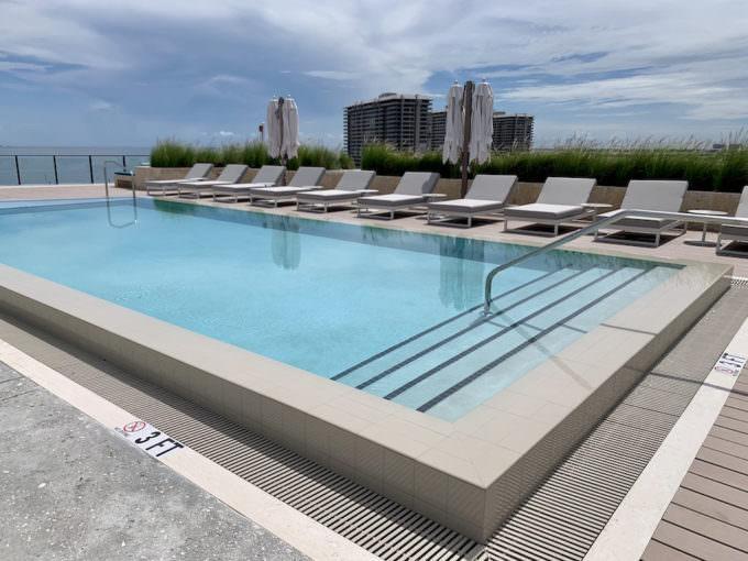 Fairchild Rooftop Pool 3