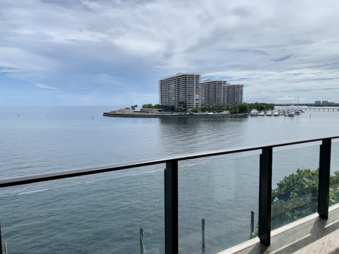 Fairchild Coconut Grove Terrace View