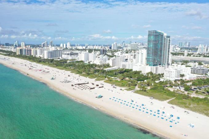 Setai Miami Beach Building and Beach