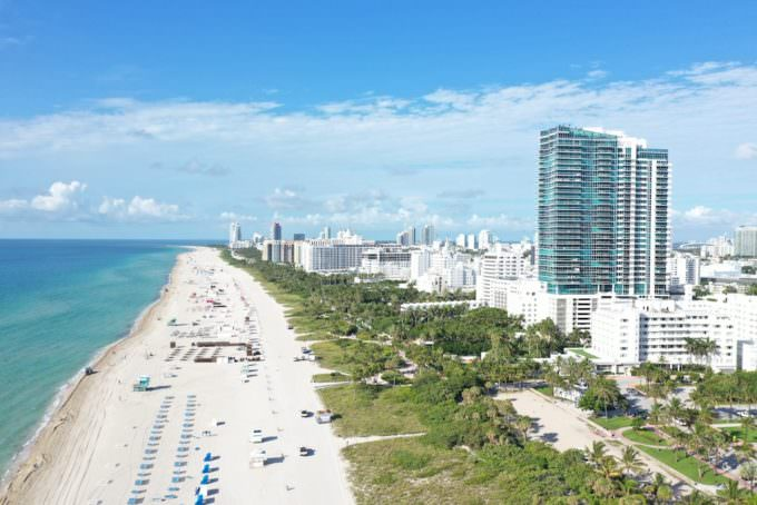 Setai Miami Beach Building and Beach 2