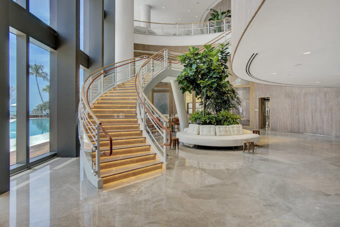 Staircase Lobby level