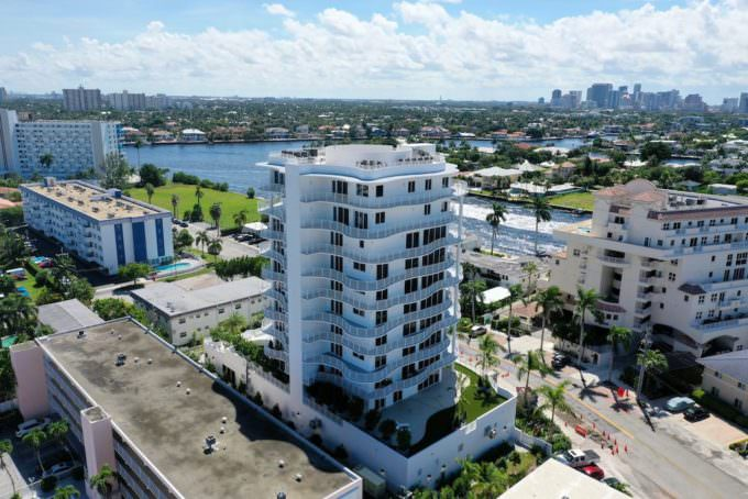 West intracoastal building view