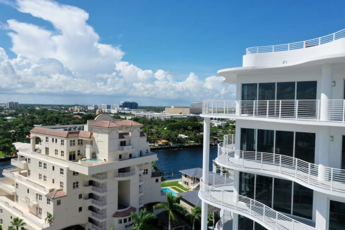 West intracoastal view