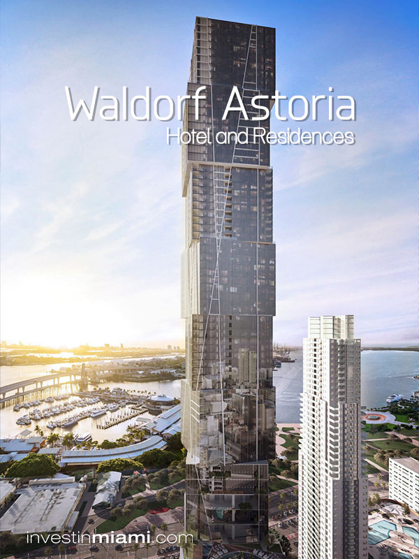 Waldorf Astoria Miami Condos for Sale