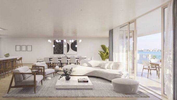 Onda Bay Harbor Living room