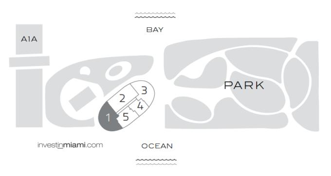 Five Park Key Plan