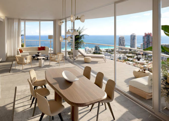 Living and Terrace