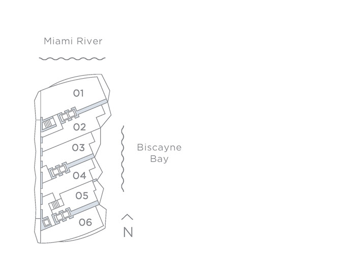 Baccarat Key Plan