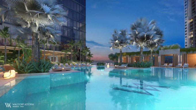Pool and Cabanas