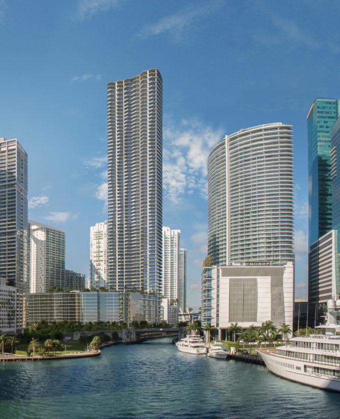 Baccarat Residences Miami Bay view