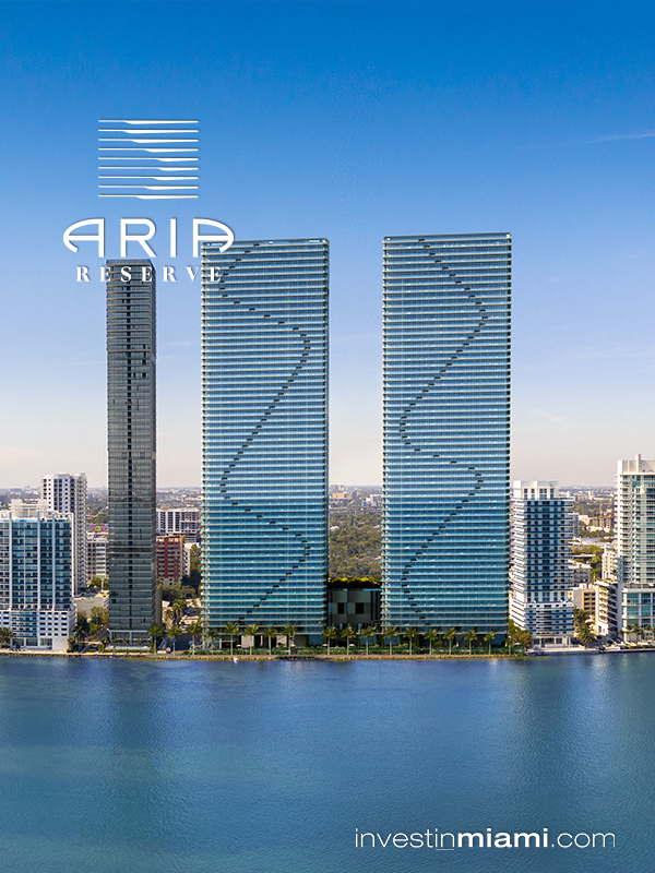 Aria Reserve Ad twin towers