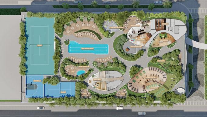 Aria Reserve Key Plan