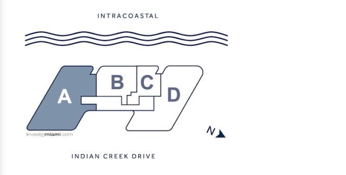 Monaco Yacht Club Residences Tower Key Plan